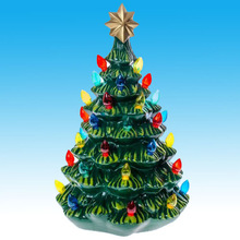 New ceramic christmas tree with lights