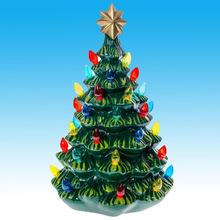 New ceramic christmas tree with lights
