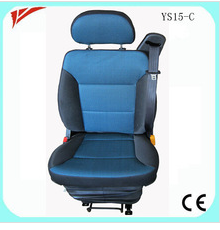 China Truck Driver Seat with Mechanical Suspension 3 Point Belt