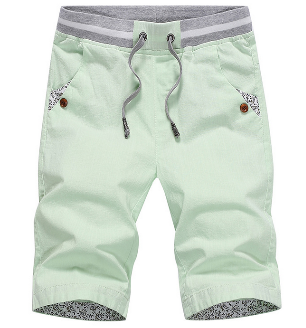 Summer linen breathable beach pants