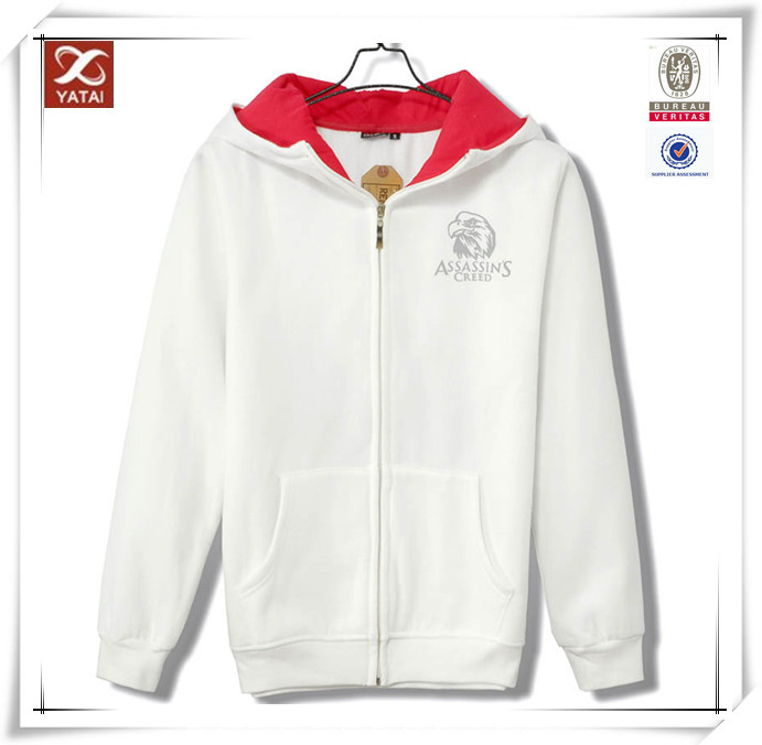 High quality hot sale custom assassins creed hoodie
