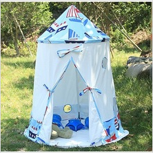 Multicolor cotton canvans child Yurt tent children play tent kids playhouse