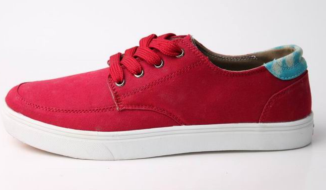 OEM odm men new stylish red skateboard sneaker