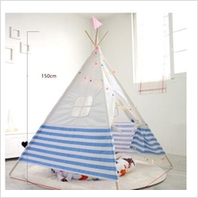 Blue/Pink Indian children tent kids play tent foldable tent gifts for children