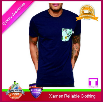 Latest soft t shirt printing,pocket t shirt mens tshirt
