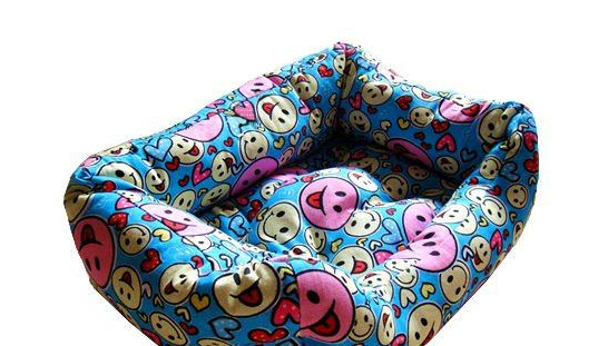 High Quality Printed canvas pet bed