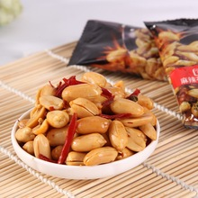 Spicy fried peanut kernels