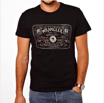 cheap shirts for men 2014 drawn Logo