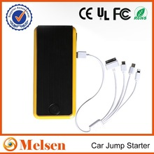 2015 new technology lithium battery jump starter with air compressor