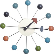 modern fashion ball wall clock
