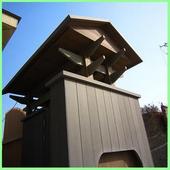 Decorative wood-plastic composite corner guard WPC