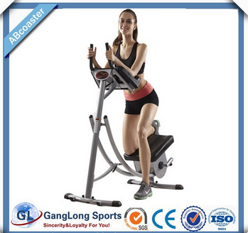 Commercial fitness equipment ab coaster