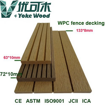 Safe timber wholesale WPC Wood Plastic Compsoite Decking Board