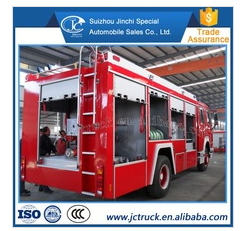 New product HOWO 4*4 policestation fire truck of The factory price