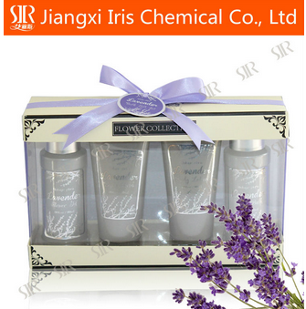 Lavender fragrance bath gift sets