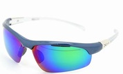 2014 shiny blue with silver temple green revo lens hot sale sunglasses