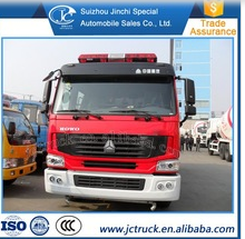 Famous Brand HOWO 4*2 water fire truck sale