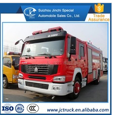 High Performance Chemical fire extinguishing fire truck for Preferential price
