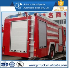 Popular Building the rescue fire fighting truck for distributor