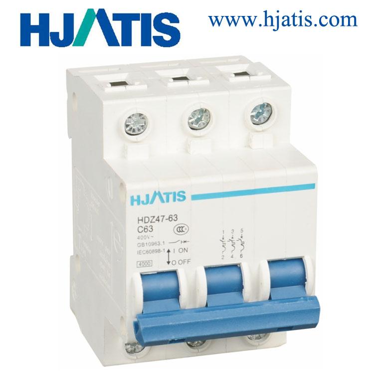 HDZ47-63 Mini circuit breaker(MCB)