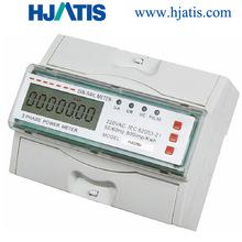 HJD280 DIN rail electric energy meter
