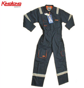 KINGLONG 2014 Hot Selling Wuhan Workwear Factory Europe Market Safety Coverall