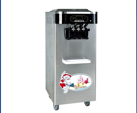 Stainless Steel Commercial Soft Serve Ice Cream Machine Hot Sale Soft Ice Cream Machine Kitchen Restaurant Use