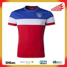 Custom brand soccer jersey/football wear /Soccer jerseys uniforms/thailand quality soccer jersey