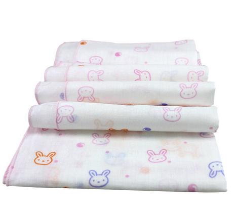 baby woven edge handkerchief