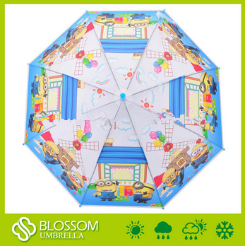 Environment-friendly POE Children Umbrella