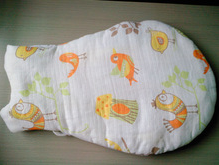 all cotton zipper baby sleeping bags