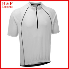 Dry fit running shirt cycling jersey custom printed sports t-shirt