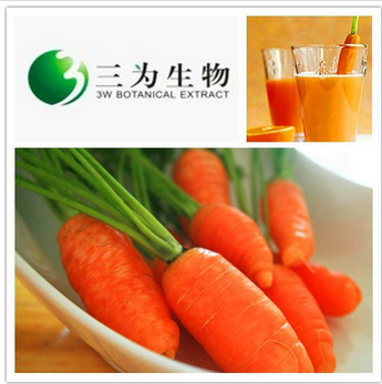 Fresh Vegetable Extract Carrot Extract from 3W Botanical Manufacturer