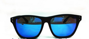 mirror lens custom wayfarer sunglasses