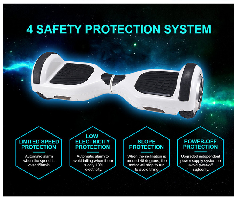 Lastest Mini 6.5inch 2 Wheel Drifting Smart electric Scooter Hoverboard