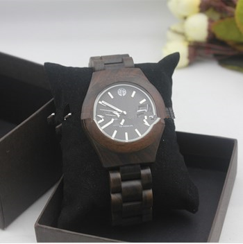 New led wood mens watches fashion wrist watch
