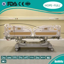 Multifunctional electric ICU hospital bed CE FDA ISO13485