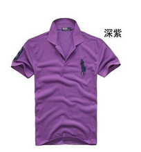 Mens Polo Shirt with Short Sleeves, Made of Cotton, ODM, OEM Orders Accepted