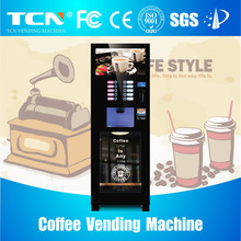 Instant tea coffee vending machine