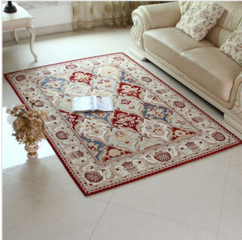 Newest Carpet European Style Wine Red Multifunction Carpet for Living Room Floor Mats Rugs and Carpets