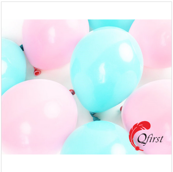 New arrival hot pink mini latex balloons for wedding