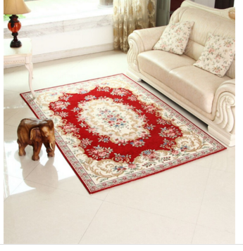 European Rural Style Home Decoration Red Carpet Runner 100 Acrylic Carpet