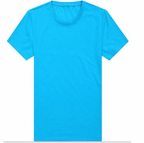OEM Service Mens Black Muscle Slim Fitted T-shirt , Wholesale Spandex Cotton T-Shirts Made In China