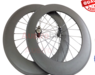 88mm Straight pull carbon wheels with Carbon Hubs