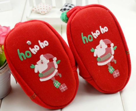 Christmas Boots Toddler Baby Girls Boots Size 3 -6M