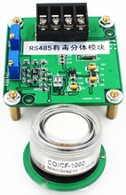 Split toxic O3 gas detection module