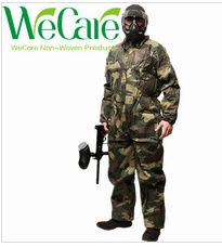 Disposable Non woven Camouflage Coverall