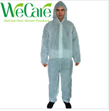Disposable Non woven White Coverall Suits