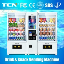 Advertisement vending machine with lift system