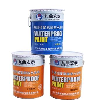 JD-124 High strength multicomponent polyurethane waterproofing coating for high-speed rail